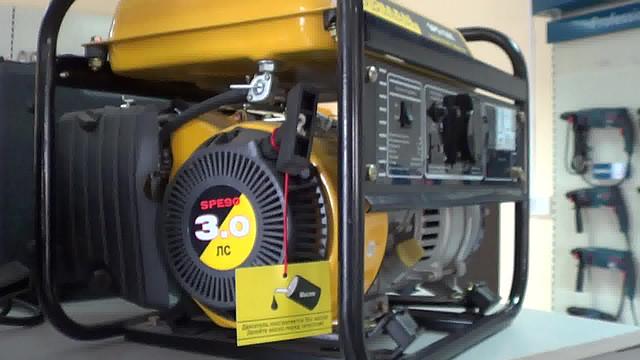 Бензиновый генератор Firman SPG 1500 фото 5