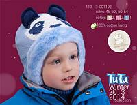 Шапка для девочки и мальчика TuTu 113 арт. 3-001192