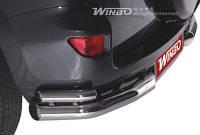 Защита заднего бампера (углы) Toyota RAV4 2011-2012