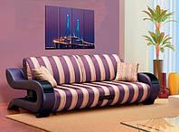 Красивый дизайнерский диван с необычными подлокотниками Дизайн-7