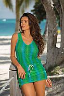 Ажурная пляжная туника M 367 ELISSA (S-L в расцветках)