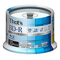 That's Taiyo Yuden BD-R  25GB printable, фото 1