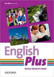 English Plus Starter Student's Book (Учебник/підручник по английскому языку)