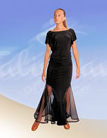 Костюм для Стандарта:юбка ЮС-268 +блузка БЛ-265(в наличии юбка р.36)