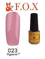Гель-лак FOX № 023 (грязно розовый), 6 мл