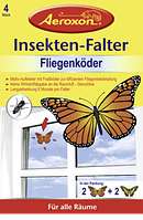 Aeroxon Insekten-Falter Fliegenköder - Приманка для моли и мух, 4 шт