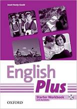 English Plus Starter Workbook with MultiROM (рабочая тетрадь/зошит по английскому языку)