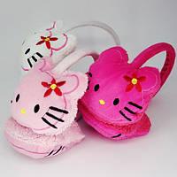 Наушники Hello Kitty (искусственный мех)