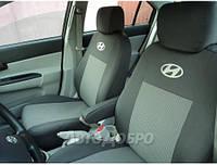 Авточехлы для салона Hyundai Accent (цельный) с 2010-