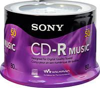 Sony Audio CD-R Music 80 min 24x Orange book II cake 50