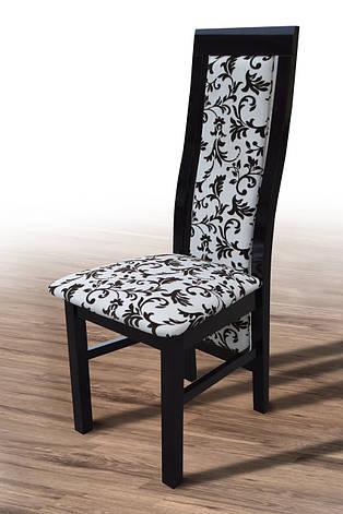 Стул обеденный Катрин Микс мебель, цвет венге-шоколад, фото 2