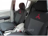 Авточехлы для салона Mitsubishi Lancer X Sedan (2.0) с 2007-