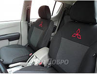 Авточехлы для салона Mitsubishi Pajero Wagon (7 мест) c 2006-