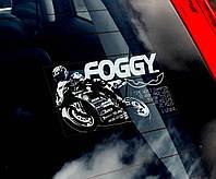 Carl Foggy Fogarty стикер