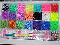 Набор резинок для плетения браслетов 4200 шт