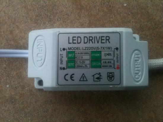 Драйвер для светодиодов LED-(5-7)х1WIP20 Код. 58392, фото 2
