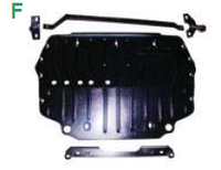 Защита картера Skoda Octavia A5 v-2,0TDi c-2010г.