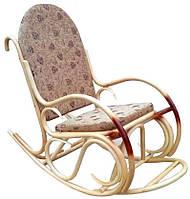 Кресло-качалка Олимп Ротанг с подножкой