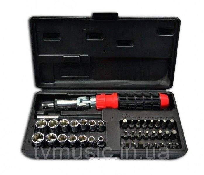 Набор: отвертка с насадками Technics 47-400