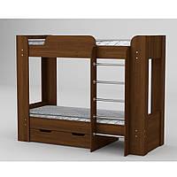 """Двухъярусная деревянная кровать """"Твикс -2"""""""