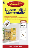 Aeroxon Lebensmittelmotten-Falle - Клейкая ловушка для пищевой моли, 2 шт