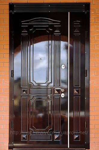 Двери бронированные.
