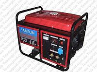 Генератор бензиновый SAMSON  SQ-190A сварочный (ток 210А, ручной старт)
