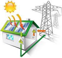 Мережева гібридна станція 10 кВт*год + резерв 10 кВт (три фази)