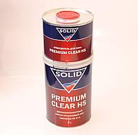 Автомобильный лак SOLID premium clear HS (1л+0,5л)
