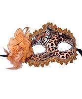 """Карнавальная маска """"Венеция леопардовая"""""""