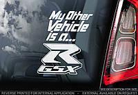 GSX-R стикер
