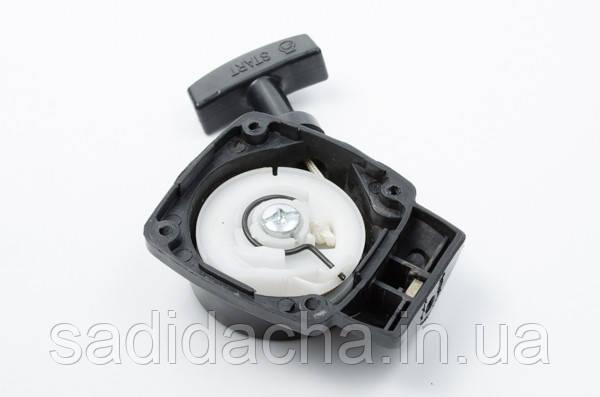 Ручной стартер для мотокосы, триммера с отводом (Евротек)