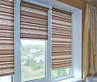 Рулонная штора открытого типа
