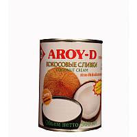 """Кокосовые сливки """"AROY-D"""" 70%, (жирность 20-22%), 560 мл"""