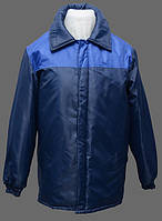 Куртка зимняя Техник. Цвет -  синий+васильковый