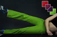 Спортивные штаны зеленые