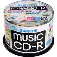 CD-R Music Ritek-Japan 1-32x 80m Orange Book printable