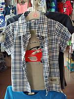 Детская рубашка-обманка для мальчика на 2 года