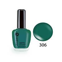 Лак для ногтей Jerden Matte 16мл №306