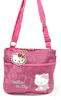 Сумка Hello Kitty dark pink pad  К 015