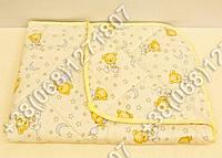 Детское антиаллергенное одеяло летнее 110х145 бязь