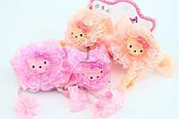 """Детская резинка для волос """"Hello Kitty"""" разноцветная"""