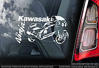 Kawasaki Ninja ZXR H 1989 стикер
