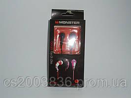 Наушники Monster черные, аксессуары для телефона, аксессуар для копмьютера, наушники