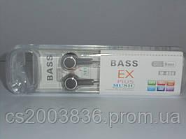 Наушники Bass Ex M-630, аксессуары для телефона, аксессуар для копмьютера, наушники