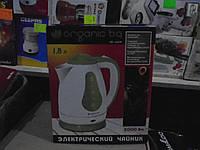 Пластиковый чайник Organic BQ 4005, несколько цветов ,товары для кухни,тостеры,чайники,кофеварки