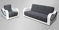 Мягкий комплект Селена (диван+кресло+пуф)