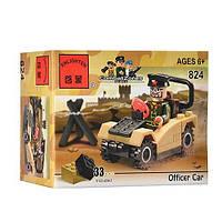 Брик 824 Офицерская машина 33 дет 6+, фото 1