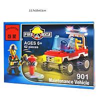 Брик 901 Пожарная охрана 62 дет 6+ Enlighten, фото 1