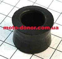 Сайлентблок амортизатора без втулки на 10мм для мопеда DELTA